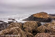 Giant's Causeway and Causeway Coast - Giant's Causeway and Causeway Coast: The basalt columns of the Middle Causeway. The Giant's Causeway is the result of a...