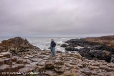 Giant's Causeway and Causeway Coast - Giant's Causeway and Causeway Coast: It is permitted to walk on the hexagonal 'stepping stones' of the Giant's Causeway....