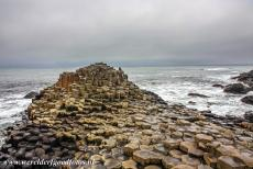 Giant's Causeway and Causeway Coast - Giant's Causeway and Causeway Coast: The hexagonal columns of the Middle Causeway. The basalt columns of the Giant's...