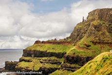 Giant's Causeway and Causeway Coast - Giant's Causeway and Causeway Coast: These free standing basalt columns of the Giant's Causeway are known as...