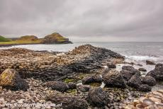 Giant's Causeway and Causeway Coast - Giant's Causeway and Causeway Coast: The Giant's Causeway, behind the Giant's Causeway lies Aird's Snout, Port Noffer...