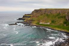 Giant's Causeway and Causeway Coast - Giant's Causeway and Causeway Coast: A pathway leads around the Causeway Coast to 'Finn McCool's Organ' and a rock known...