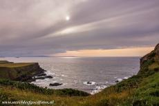 Giant's Causeway and Causeway Coast - Giant's Causeway and Causeway Coast: A beautiful sunset at the Great Stookan. The Great Stookan is the coast west of the Giant's...