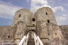 Castles of King Edward in Gwynedd - Castles and Town Walls of King Edward in Gwynedd: The main gate house is the most imposing structure of Harlech Castle. As greatest...