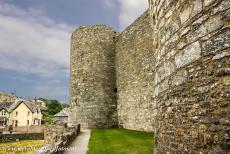 Castles of King Edward in Gwynedd - The Castles and Town Walls of King Edward in Gwynedd: The Chapel Tower of Harlech Castle. In the 16th century, the Chapel Tower probably...