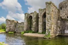 Castles of King Edward in Gwynedd - Castles and Town Walls of King Edward in Gwynedd: The landward Llanfaes Gate of Beaumaris Castle. Beaumaris Castle is a...
