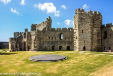 Castles of King Edward in Gwynedd - Castles and Town Walls of King Edward in Gwynedd: The Dais of Caernarfon Castle was used for the investiture of the Prince of Wales in 1969....