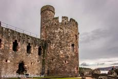 Castles of King Edward in Gwynedd - Castles and Town Walls of King Edward in Gwynedd: The Chapel Tower of Conwy Castle. Conwy Castle was part of the Iron Ring of castles that...