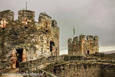 Castles of King Edward in Gwynedd - The Castles and Town Walls of King Edward in Gwynedd: The Conwy town walls are completely intact. The walls are nine metres high, the circuit...