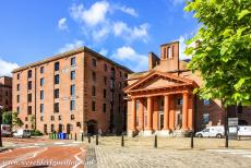 Liverpool - Mercantile City - Liverpool - Maritime Mercantile City: The Albert Dock Traffic Office was built in 1846-1847. The Albert Dock Traffic Office is built of brick,...