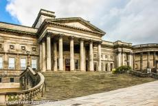 Liverpool - Mercantile City - The Neoclassical building of the World Museum Liverpool and Central Library was built on the St. George's Plateau between 1857 and 1860. The...