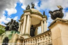 Liverpool - Mercantile City - Liverpool - Maritime Mercantile City: The Victoria Monument is situated on Derby Square, on the location of the former Liverpool Castle. The...
