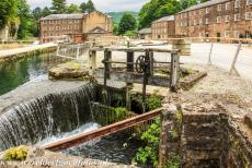 Derwent Valley Mills - Derwent Valley Mills: The Cromford Mill was the first water-powered cotton spinning mill in the world, developed by Richard Arkwright in 1771. It...