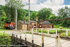 Derwent Valley Mills - Derwent Valley Mills: The Cromford and High Peak Railway, the workshops and offices at High Peak Junction, the original southern terminus, before...