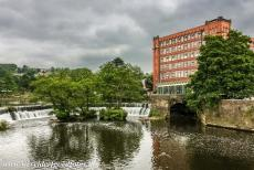 Derwent Valley Mills - The North Mill in Belper is one of the mills in the Derwent Valley. The Derwent Valley contains a number of cotton factories from the...