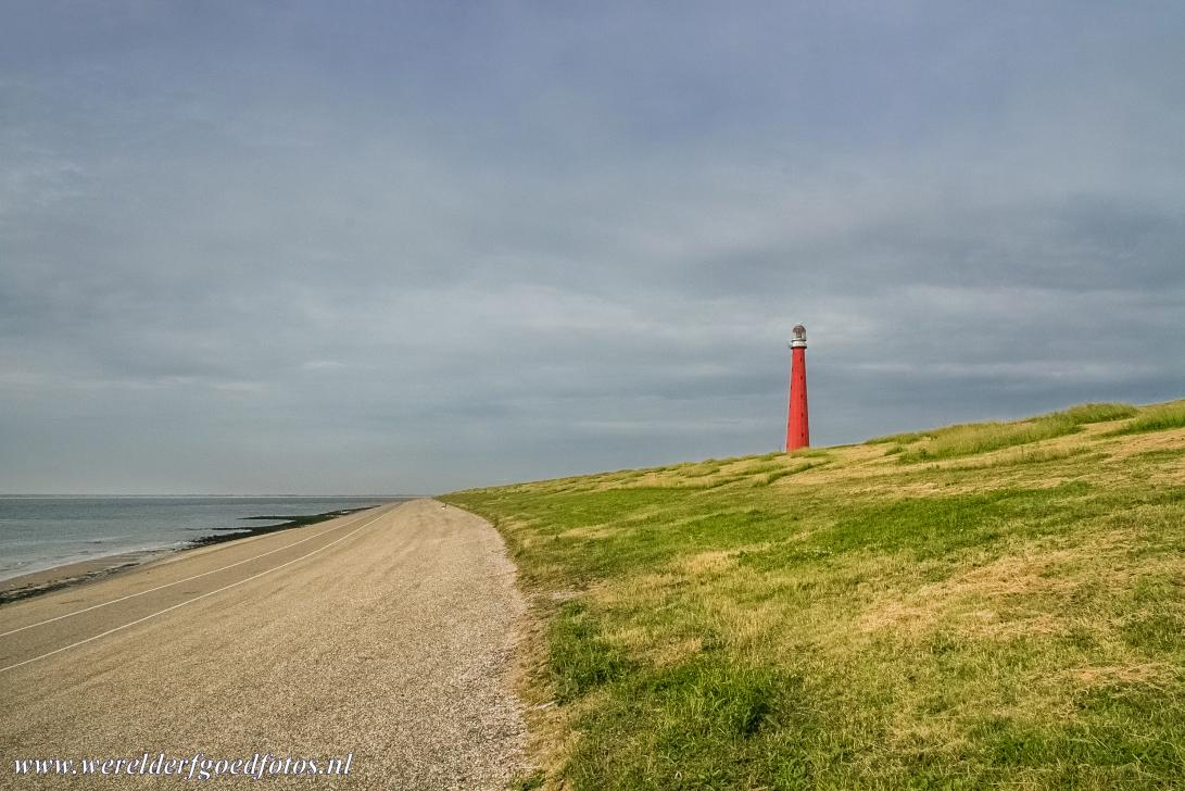 Dutch part of the Wadden Sea - Wadden Sea: The lighthouse Lange Jaap (Long James) overlooking the Wadden Sea nearby Den Helder in the Netherlands. The lighthouse was built...