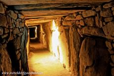 Bend of the Boyne - Knowth - Brú na Bóinne - Archaeological Ensemble of the Bend of the Boyne: The Great Mound at Knowth contains two passages and each lead...