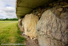 Bend of the Boyne - Knowth - Brú na Bóinne - Archaeological Ensemble of the Bend of the Boyne: The large passage tomb at Knowth is encircled by 127...