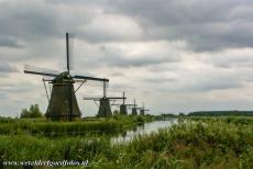 Mill Network at Kinderdijk-Elshout - The Mill Network at Kinderdijk-Elshout at dusk. The windmills at Kinderdijk are the most famous windmills in the Netherlands. There are over a...
