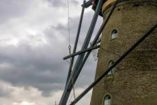 Mill Network at Kinderdijk-Elshout - Mill Network at Kinderdijk-Elshout: The Nederwaard windmill no. 2 is open to the public. In the 18th century, more than 9000 windmills...