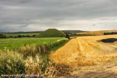 Silbury Hill - Silbury Hill is situated south of the village of Avebury in Wiltshire in Great Britain. The mound was excavated several times, the...