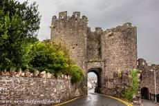 Conwy Castle and Town Walls - Castles and Town Walls of King Edward in Gwynedd: The Upper Gate of Conwy. The Upper Gate formed the main inland entrance to the town of Conwy...