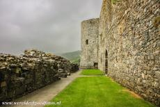 Harlech Castle - Castles and Town Walls of King Edward in Gwynedd: The Prison Tower of Harlech Castle. In the 18th and 19th centuries, the ruins of Harlech Castle...