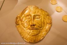 Archaeological Site of Mycenae - Archaeological Site of Mycenae: The golden 'Death Mask of Agamemnon' is one of the most famous artefacts from the Greek Bronze Age. The...