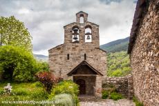 Catalan Romanesque Churches of Vall de Boi - The Church of Santa Maria de Cardet is situated at the entrance to the Vall de Boí. Santa Maria de Cardet is situated above...