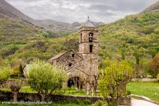 Catalan Romanesque Churches of Vall de Boi - The Church of Sant Feliú de Barruera was first documented in the late 13th century, but little is known about the history of the church....