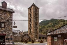 Catalan Romanesque Churches of Vall de Boi - The Santa de Eulalia de Erill La Vall has one of the most spectacular bell towers in the Vall de Boí. The tower is 23 metres high, it was...