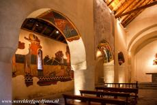 Catalan Romanesque Churches of Vall de Boi - Catalan Romanesque Churches of Vall de Boí: The interior of the Church of Sant Joan de Boí is adorned with murals. Now, most of the...