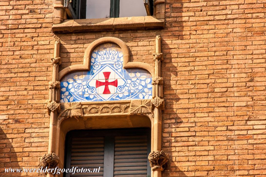 Werelderfgoedfoto 39 s barcelona art nouveau - Decoratie van trappenhuis ...