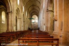 Poblet Monastery - Poblet Monastery: The church was built in the 12th and 13th centuries, the north and central nave of the church were built in...