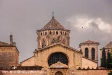 Poblet Monastery - Poblet Monastery: The octogonal tower of the monastery church. The monastery was plundered during the First Carlist War, a civil war in Spain...
