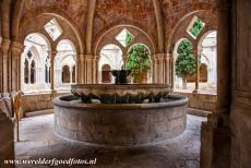 Poblet Monastery - Poblet Monastery: The lavabo and fountain was used by the monks for cleaning and washings. The lavabo and the lavabo pavillion were...