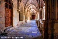 Poblet Monastery - Poblet Monastery: The arched gallery of the cloister dates from the 12th and 14th centuries. The earliest parts of the Poblet Monastery are...