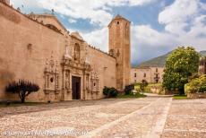 Poblet Monastery - The Poblet Monastery is situated about 122 km west of Barcelona, it stands on fertile land rich of water and protected by mountains.The...