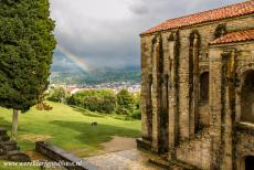 Monuments of Oviedo and Kingdom of the Asturias - Monuments of Oviedo and the Kingdom of the Asturias: The Asturian pre-Romanesque Church of Santa Maria del Naranco (Church of St. Mary at...