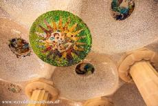 Works of Antoni Gaudí - Works of Antoni Gaudí, Barcelona: The Sala Hipóstila in Park Güell was intended to function as an indoor marketplace, it...