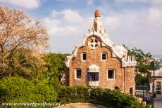 Works of Antoni Gaudí - Works of Antoni Gaudí, Barcelona: The Gatehouse of Park Güell. Park Güell is one of his most colourful and playful...