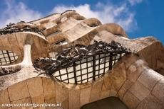 Works of Antoni Gaudí - Works of Antoni Gaudí, Barcelona: The most unusual shaped balconies of Casa Milà. Casa Milà is one of the better known...