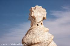 Works of Antoni Gaudí - Works of Antoni Gaudí, Barcelona: One of the chimneys on the roof of Casa Milà. The work of Antoni Gaudí is often associated...