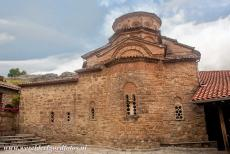 Monasteries of Meteora - Meteora: The Katholikon is the main church of the Megalo Meteoro Monastery, the Katholikon was built in the 14th century and dedicated to the...