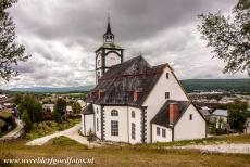Røros Mining Town - Røros Mining Town and the Circumference: The Church of Røros was consecrated in 1784. The church is one of the largest stone...