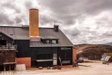 Røros Mining Town - Røros Mining Town and the Circumference: The Slegghaugan are enormous heaps of slags near the Smelthytta. In 1975 the Smelthytta was...