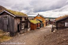 Røros Mining Town - Røros Mining Town and the Circumference: A slag-stone street is called the Sleggveien. Slag-stone is a byproduct of the metallurgical...