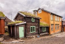 Røros Mining Town - Røros Mining Town and the Circumference: The Sleggveien street. In the houses along the Sleggveien street lived craftsman, unmarried...