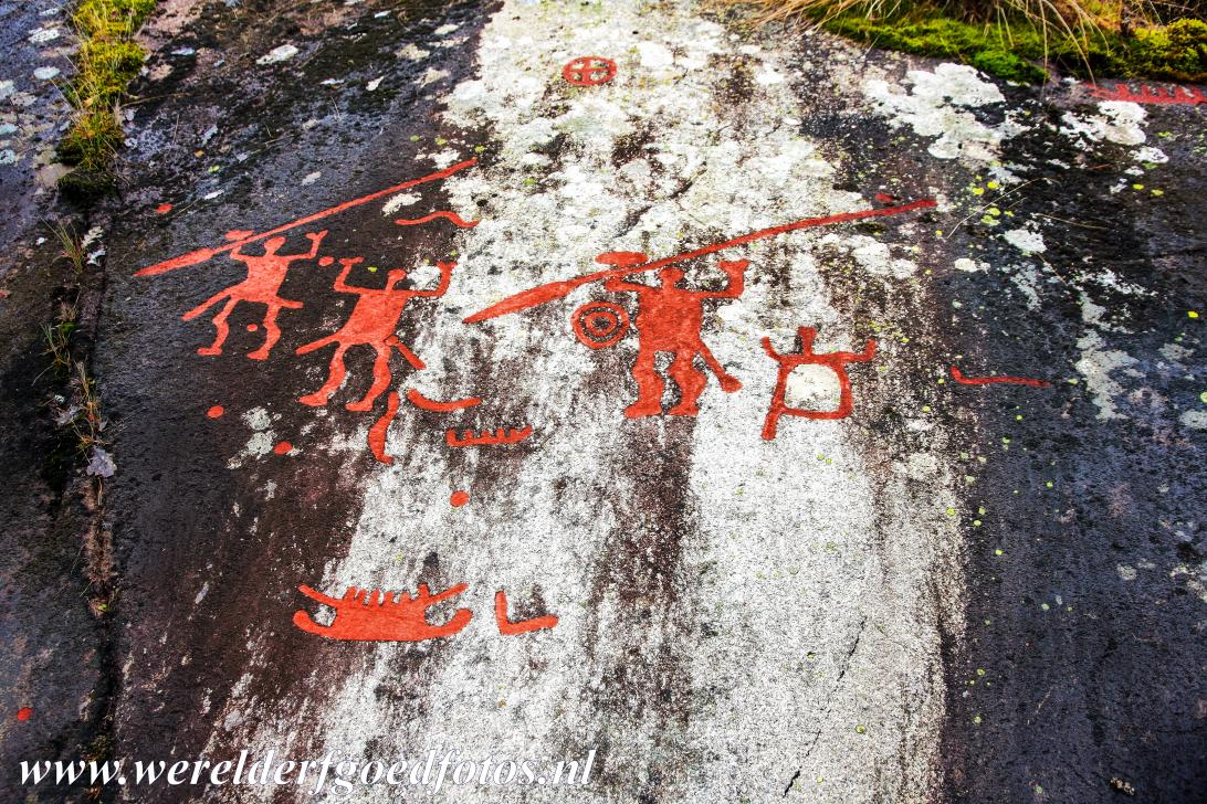 World heritage photos rock carvings in tanum