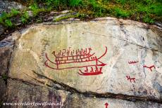 Rock Carvings in Tanum - Rock Carvings in Tanum: A smaller rock near Vitlycke, the rock carvings represent boats with warriors aboard. The oldest rock carvings date...